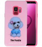 Afbeelding van 3D Print Hard Case voor Galaxy S9 The Poodle
