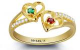 Afbeelding van Gepersonaliseerd Gepersonaliseerde Gouden Ring