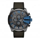 Afbeelding van Diesel DZ4500 Mega Chief horloge herenhorloge Grijs