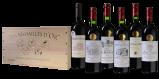 Afbeelding van Bordeaux Supérieur Gouden wijnpakket in luxe wijnkist