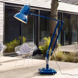 Afbeelding van Anglepoise anglepoise® Original 1227 Giant vloerlamp blauw, staal, aluminium, E27, 13 W, energie efficiëntie: A+, H: 270 cm
