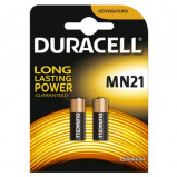 Afbeelding van Duracell mn21 3lr50 alkaline staaf 12 volt bp2 blister 2 stuks