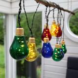 Afbeelding van Best Season led lichtketting Glow, glas, kleurrijk, 0.22 W, energie efficiëntie: A+, L: 500 cm, H: 10.5 cm