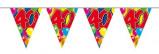 Afbeelding van Amigo Vlaggenlijn ballonnen: 40 jaar 10 meter