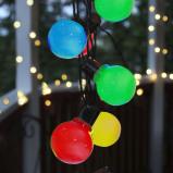Afbeelding van Best Season led lichtketting Partaj, gekleurd, kunststof, 1.44 W, energie efficiëntie: A+, L: 450 cm, H: 9.5 cm