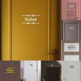 Εικόνα του #20 Creative Diy Fashion Personality 3D Wall Stickers Toilet Bathroom Tips Stickers Room Art Toilet Bathroom Tips