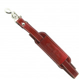 Abbildung von Adjustable travel bag leather shoulder strap Red