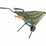 Afbeelding van Esschert Design Kruiwagen inklapbaar groen GT138