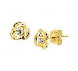 Afbeelding van Selected Jewels Evy Sophie 14 karaat gouden oorstekers voor dames