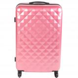 Afbeelding van Adventure Bags Edge Spinner 78cm Roze koffer