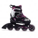 Afbeelding van Fila X one 18 Verstelbare Inline Skates Junior Zwart Roze EU 29 32 Kinderen
