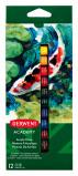 Afbeelding van Acrylverf Derwent Academy Blister À 12 Tubes 12ml Assorti