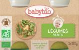Afbeelding van Babybio Groenten Groene Groente 4 Maanden 130 gram, 2x130 gram
