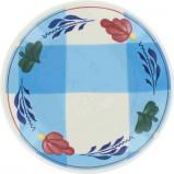 Afbeelding van Boerenbont & bonter petit four 11cm blauwe ruit