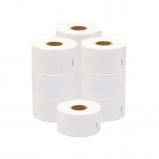 Afbeelding van Compatible 10x Dymo 99012 / S0722400 compatible labels 89 mm x 36 mm Alleeninkt