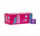 Image of Adore Ribbed Pleasure condoms 144 pcs