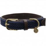 Image of Kentucky Collar Plaited Nylon Navy 62cm
