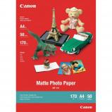 Billede af Canon MP 101 mat fotopapir A4, 170g, 5 ark (7981A042)
