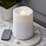 Afbeelding van Best Season watergeschikte LED kaars Water Candle, kunststof, 0.06 W, H: 14 cm
