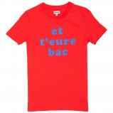 Afbeelding van Cheaque Et T'eure Bac Shirt Junior Red 104