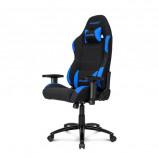 Afbeelding van AKRacing Core EX Fabric Cover gamestoel zwart / blauw