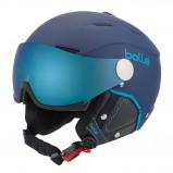 Afbeelding van Bollé Backline Visor Premium Helm Soft Navy Cyan 56 58 Cm
