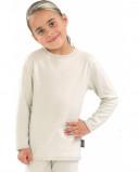 Afbeelding van Best4body Verbandshirt Kind Wit Lange Mouw 128, 1 stuks