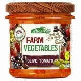Afbeelding van Allos Farm Vegetables Tomaat & Olijf (135g)