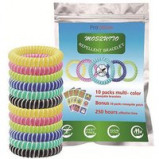 Εικόνα του 10 or 20 Pack Natural Waterproof Mosquito Repellent Bands