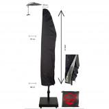 Afbeelding van HOC Parasolhoes 205 cm / Beschermhoes Parasol Afdekhoes met rits