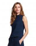 Abbildung von LaDress Amber top aus jersey lycra blau
