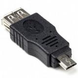 Afbeelding van USB 2.0 A female Micro B male adapter