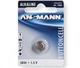 Afbeelding van Ansmann alkaline knoopcel lr44 1 5 volt v13ga