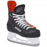 Afbeelding van Bauer ijshockeyschaatsen NS Skate zwart/rood junior maat 28