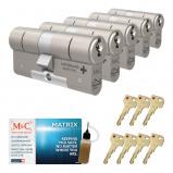 Afbeelding van Cilinderslot M&C Matrix SKG*** (5 stuks)