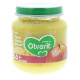 Afbeelding van Olvarit 1e Fruithapje 4m Appel, Mango en Banaan 125 gr
