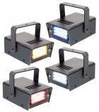 Afbeelding van Beamz LED Mini Strobe Set 4pcs. W/R/Y/B lichteffect