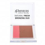 Abbildung von Benecos Natural Fresh Bronzing Duo Ibiza Nights 8G Bronzer Make up