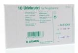 Afbeelding van Braun Urinez Baby 0.1 Ltr Steriel, 10 stuks