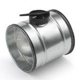 Afbeelding van Air Spiralo 100 Klk Inregelklep Met Kunststofkwadrant Vv Ken lok