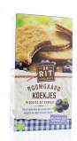Afbeelding van De Rit Boomgaard Koekjes Blauwe Bes, 175 gram