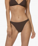Bilde av Filippa K Soft Sport Bikini Brief High Cut in Fondant Brown