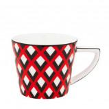 Afbeelding van Designed for Living Scales koffiekop (Kleur: rood)