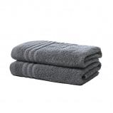 Afbeelding van 2 pack Luxe Katoenen Handdoeken van Silverstar Marine Blauw Koopjedeal De beste Deals & Dagaanbiedingen