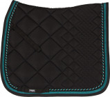 Afbeelding van Catago Diamond black/turquoise dekje dressuur