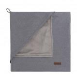 Afbeelding van Baby's Only Sparkle omslagdoek soft 82x82 cm zilvergrijs mêlee