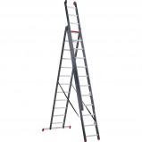 Afbeelding van Altrex All Round 3 x 12 Reformladder Gecoat ladder