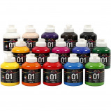 Image of A Color Acrylic Paint Glossy 15 x 500ml (32000)