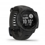Afbeelding van Garmin Instinct Graphite GPS 010 02064 00 Sporthorloge herenhorloge horloge Zwart