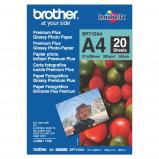 Billede af Brother BP 71GA4 glossy fotopapir A4, 260g, 20 ark (BP71GA4)